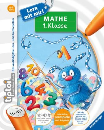 tiptoi Lern mit mir! - tiptoi® Mathe 1. Klasse - Über 50 Lernspiele und Aufgaben