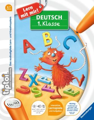 tiptoi Lern mit mir! - tiptoi® Deutsch 1. Klasse; . - Über 50 Lernspiele und Aufgaben