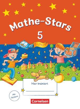 Stars (Oldenbourg) - Mathe-Stars - 5. Schuljahr - Übungsheft. Mit Lösungen