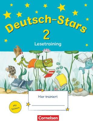 Stars (Oldenbourg) - Deutsch-Stars - 2. Schuljahr: Lesetraining - Übungsheft. Mit Lösungen