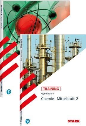 Training Chemie, Gymnasium - Chemie - Mittelstufe 1+2, 2 Bde. - Aufgaben mit Lösungen