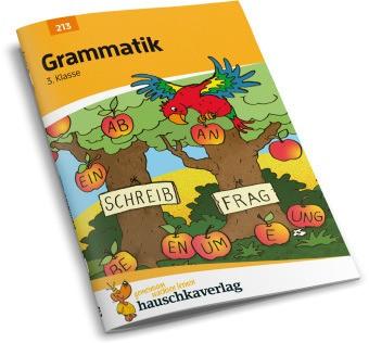 Hauschka Trainingsbücher und Lernprogramme - Grammatik 3. Klasse - Herausnehmbarer Lösungsteil