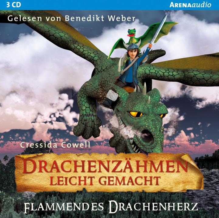 Drachenzähmen leicht gemacht (8). Flammendes Drachenherz: Verlage ...