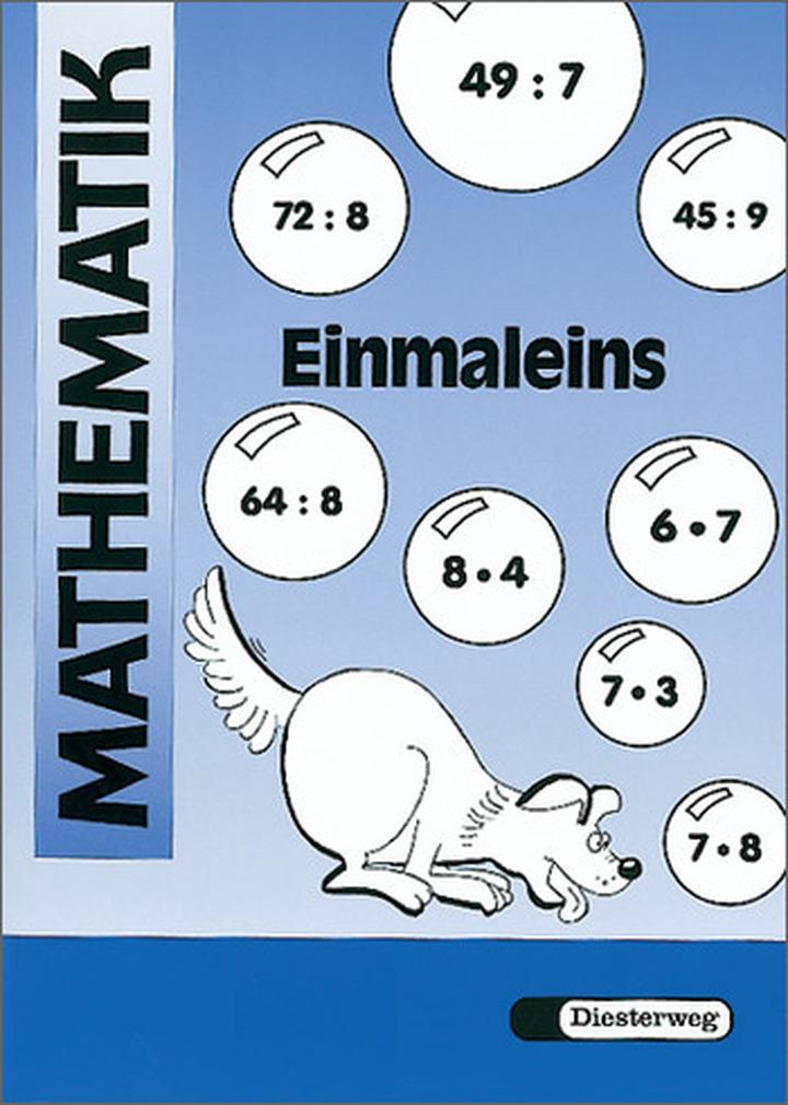 mathematik 220bungen einmaleins diesterweg verlag