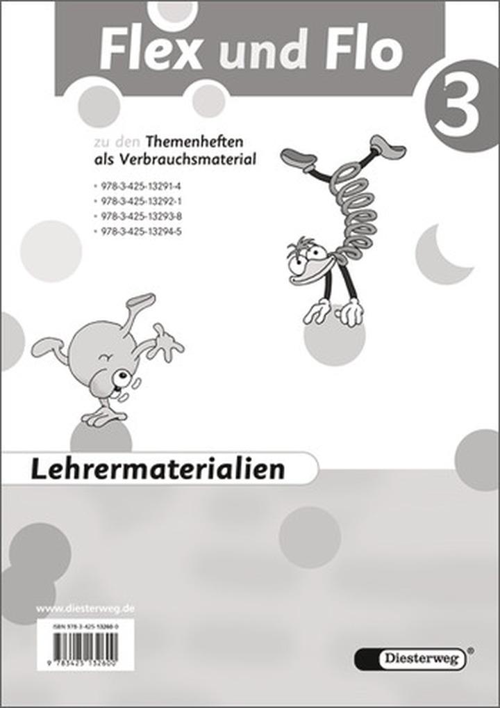 flex und flo  ausgabe 2007  lehrermaterialien 3 mit cd