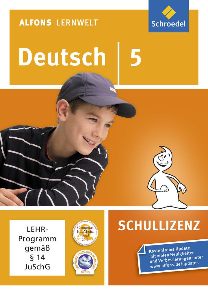 Alfons Lernwelt Lernsoftware Deutsch - aktuelle Ausgabe ...