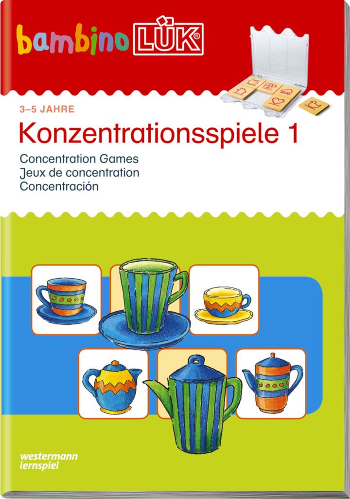 Konzentrationsspiele App
