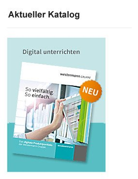 Katalog digitale Produkte