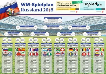 Aktionen zur Fußball-Weltmeisterschaft in Russland 2018
