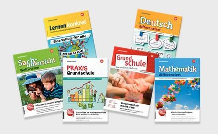 Abo print der Westermann Grundschule Fachzeitschriften für Schulen, Institutionen