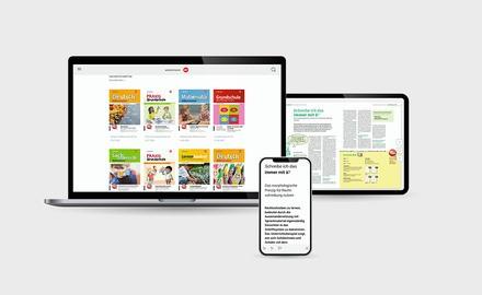 digital-Abonnement einer Grundschule Westermann Fachzeitschrift