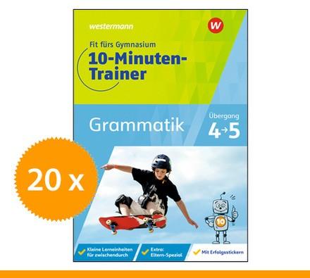 10Minuten-Trainer Deutsch Grammatik