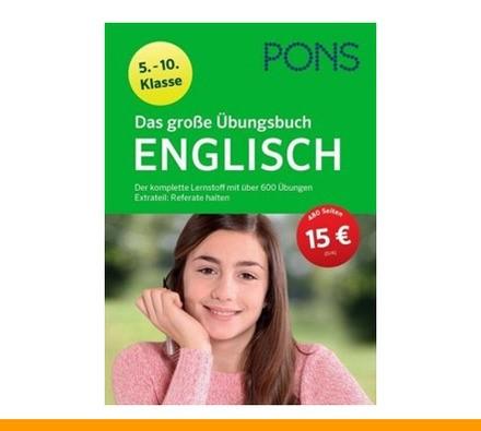 PONS Das große Übungsbuch Englisch 5.-10. Klasse