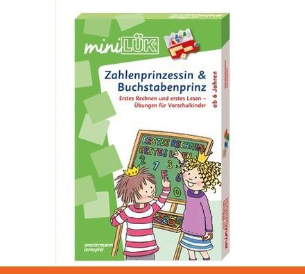 miniLÜK-Set Zahlenprinzessin & Buchstabenprinz
