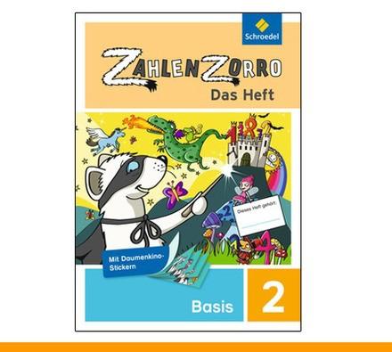Zahlenzorro - Das Heft