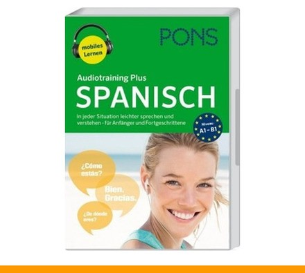 PONS Audiotraining Plus Spanisch