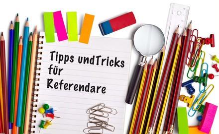 Aktionen und Tipps rund um Ihr Referendariat