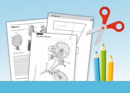 Kostenlose Arbeitsblätter für die Grundschule