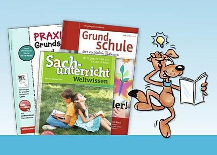 Grundschul-Fachzeitschriften unserer Verlagsgruppe und der Grundschulschnüffler-Blog