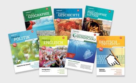 Abo print der Westermann Sekundarstufen Fachzeitschriften für Schulen, Institutionen
