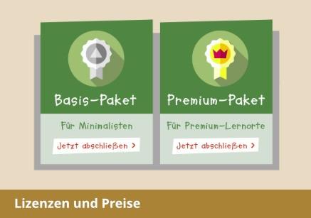 Lizenzen und Preise