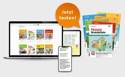 Probe-Abo print+digital Westermann Grundschule Fachzeitschrift