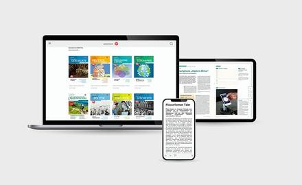 digital-Abonnement einer Westermann Sekundarstufen Fachzeitschrift