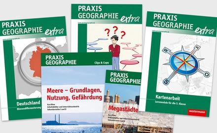 Zeitschrift Praxis Geographie Zusatzprodukte