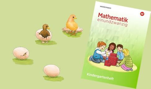 Mathematik einundzwanzig Kindergartenheft