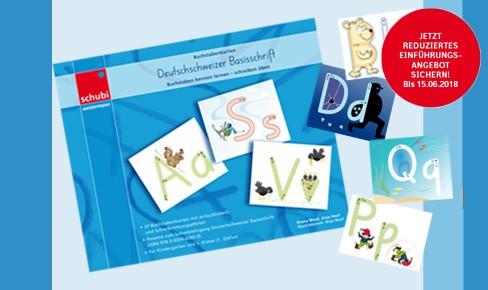 Deutschschweizer Basisschrift Buchstabenkarten