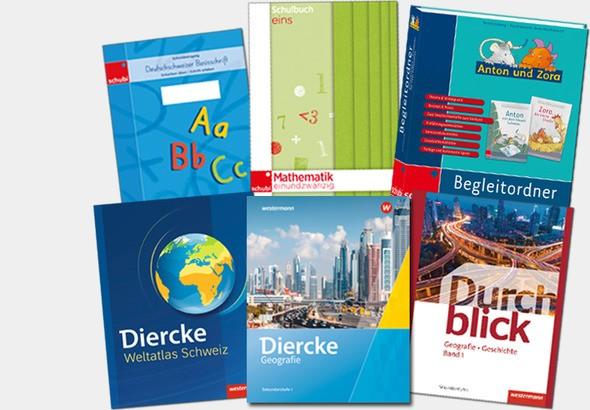 Diercke, Durchblick, Deutschschweizer Basisschrift, Mathematik einundzwanzig, Anton und Zora