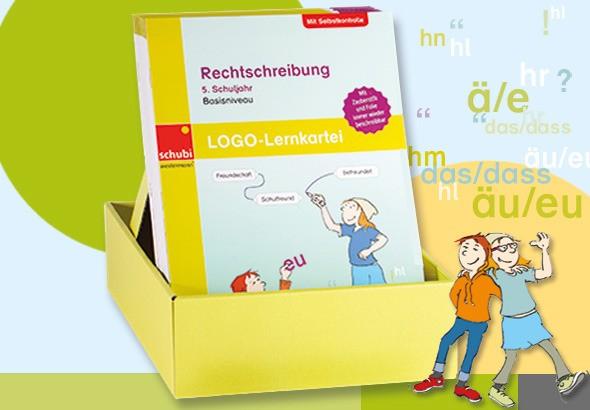 LOGO-Lernkartei Rechtschreibung