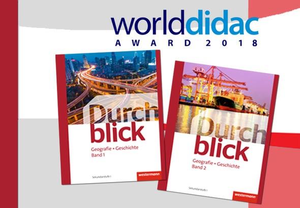 Durchblick Geografie Geschichte Worlddidac Award 2018