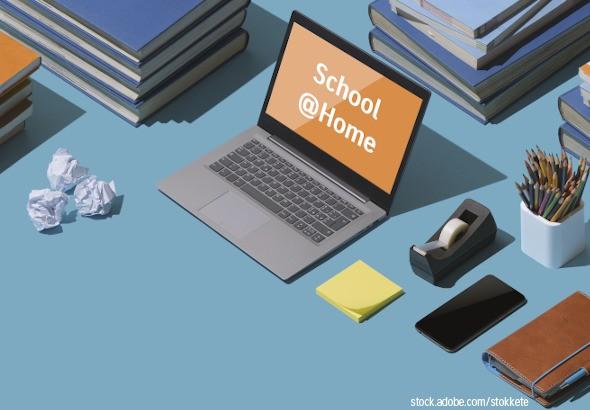 Digitale Services während der Schulschließungen aufgrund von Covid