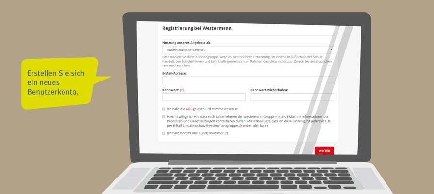 experito Registrierung Westermann